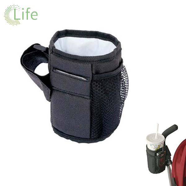 Holder For Stroller Pram Pushchair Bicycle Buggy Milk Bottle Cup Universal