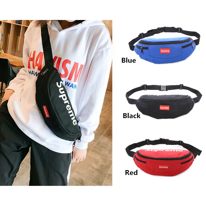 Supreme Shoulder Bag Men And Women Messenger Bags Travel Outdoor