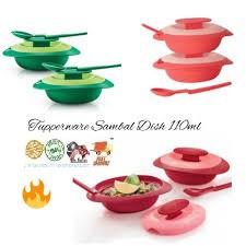 Tupperware Sambal Dish with Spoon 110ml (2PCS or 1PC)