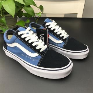 new products new arrivals super popular 💕Ready Stock💕 Vans Old Skool Navy Blue Classic Men's and Women's Canvas  Shoes