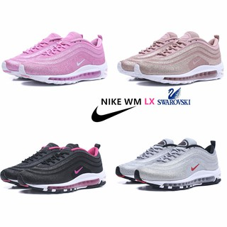 47f0fa19a2 Women Nike Air Max 97 LX Swarovski 💕Bling Bling Fashion Lovely running  shoes