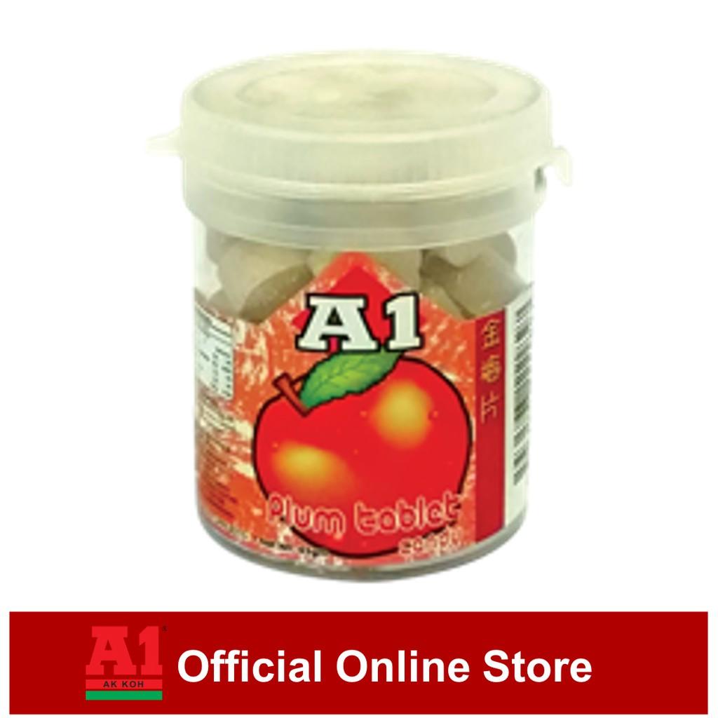 A1 Plum Tablet Candy (45g)