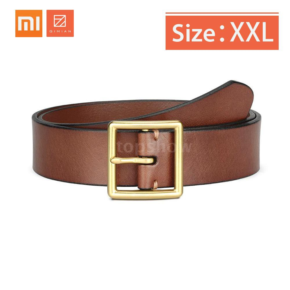 Premium New Genuine Cow Leather JEEP Men/'s Belt Waistband Casual Business Brown