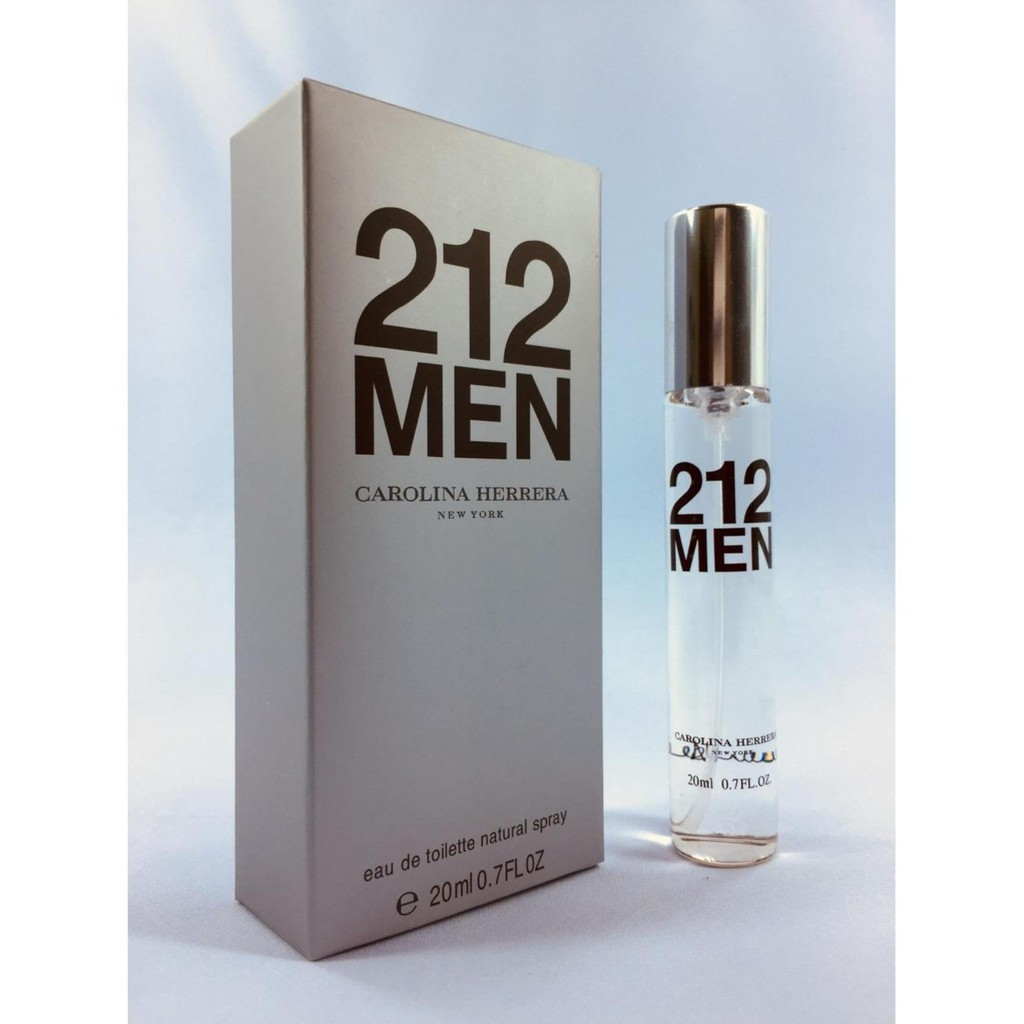 CH 212 MEN (Europe Authentic Perfume 20ML)