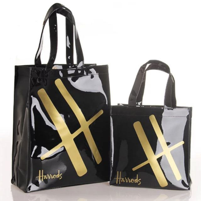 94f5b16dce9f7 Harrods London BIG H pvc shopping bag | Shopee Malaysia