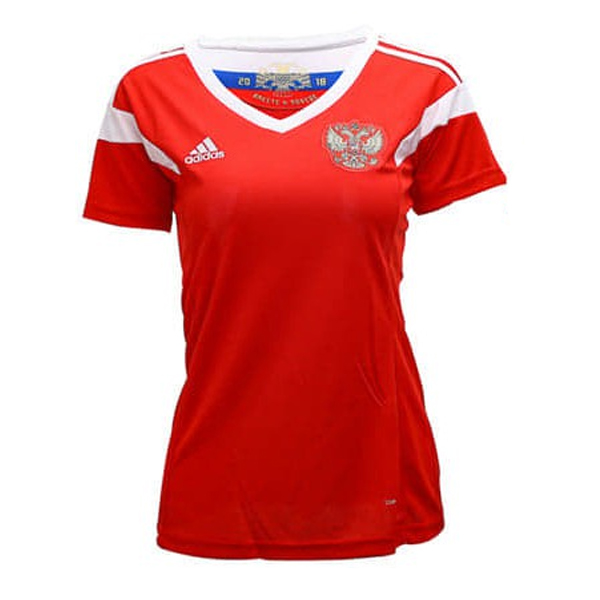 Russia Women Home World Cup 2018 Fans Issue Jersey