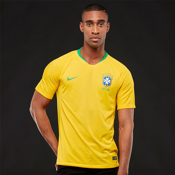 [Player Issue] Brazil Men Home World Cup 2018 Jersey