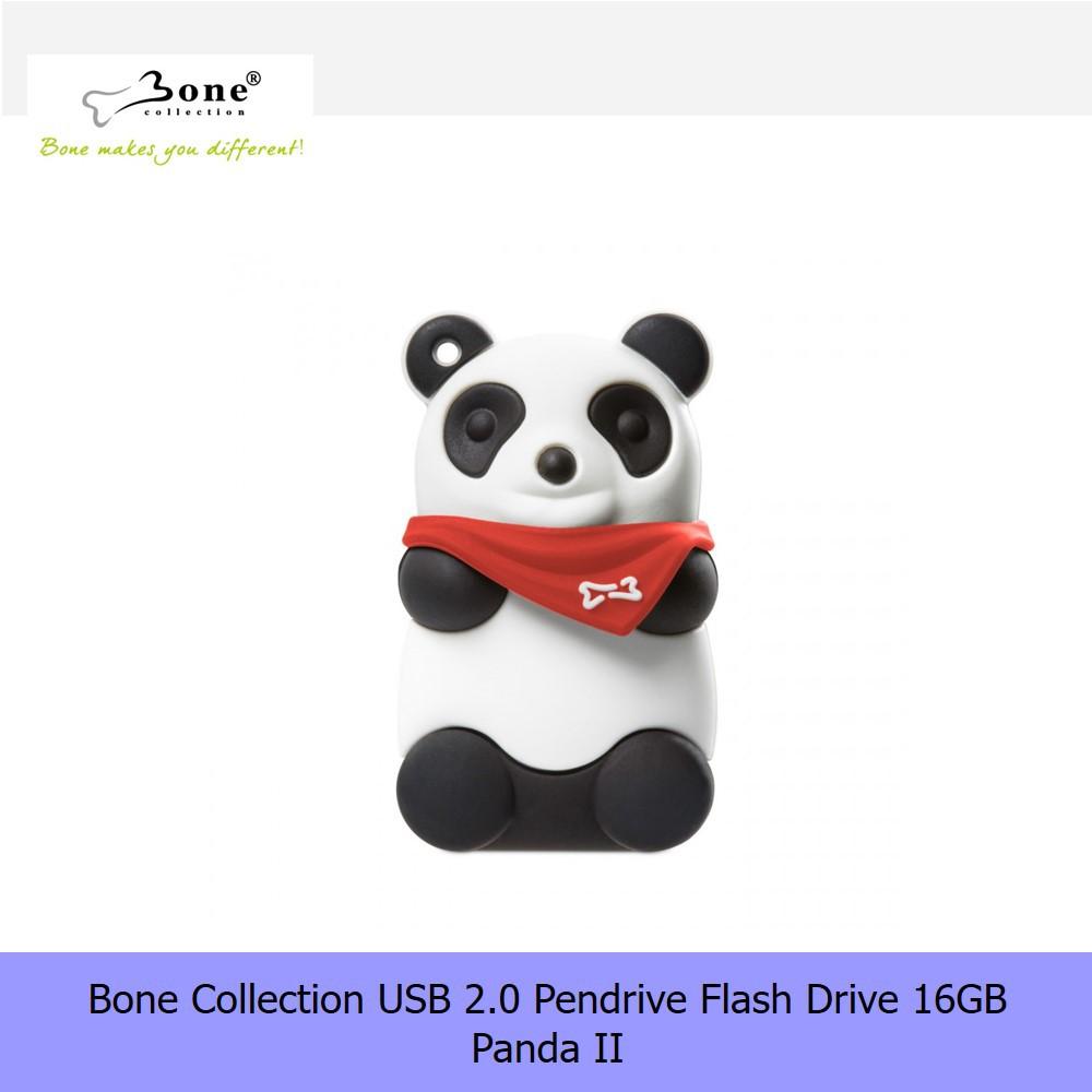 【16G Pendrive】Bone Collection USB 2.0 Pendrive Flash Drive 16GB - Panda II