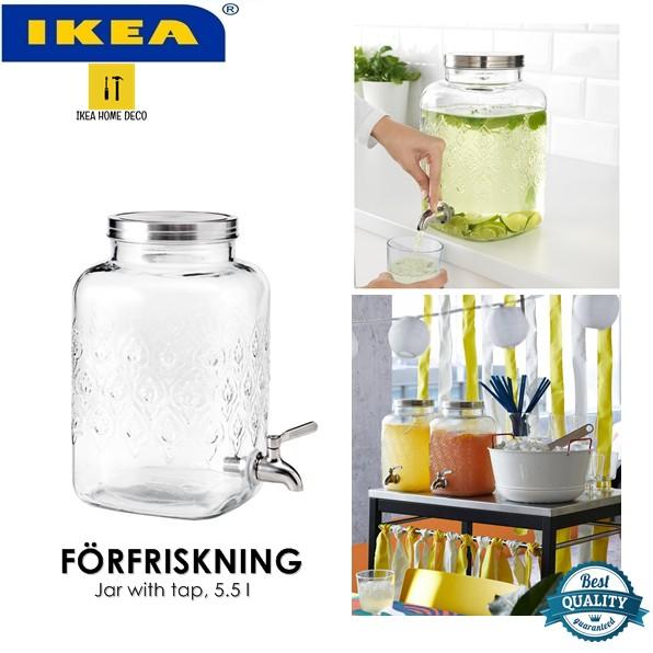 IKEA KALASFINT glass water dispenser