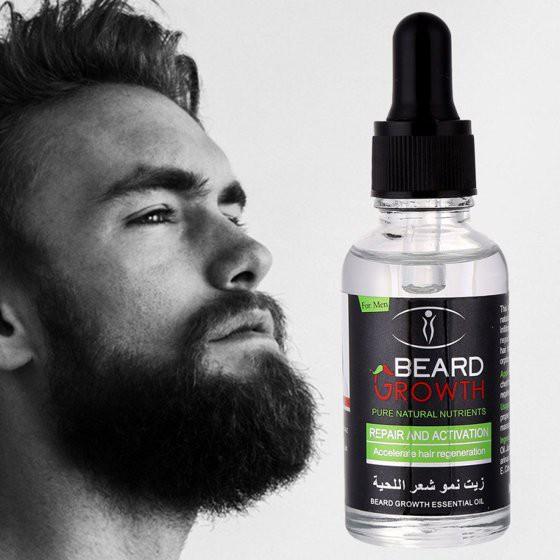 0aa1f90e95e GENIVE Beard Facial Hair Growth Serum Eyebrow Eyelash Longer Thicker 10 Ml  | Shopee Malaysia
