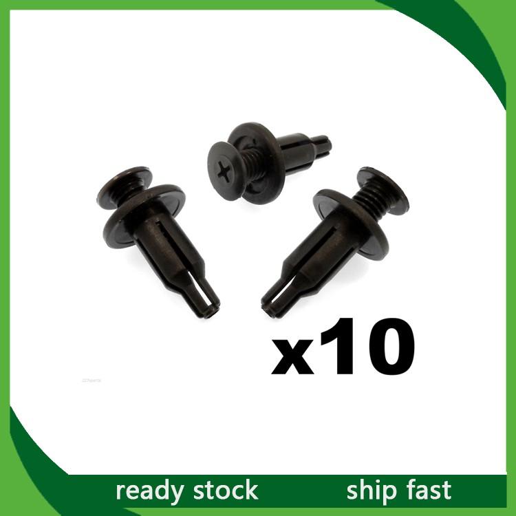 30x For Honda Front Rear Bumper Push Type Clip Retainer Fastener 91502-SP0-003