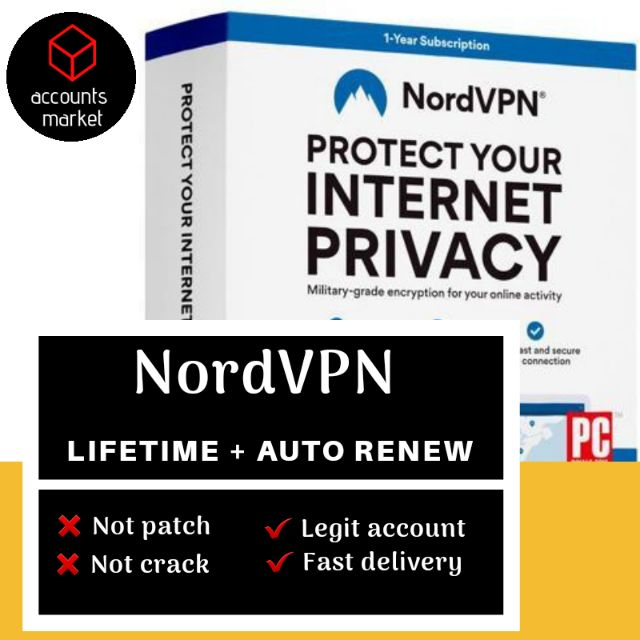 NordVPN Lifetime Account (With Warranty and Free Gift)