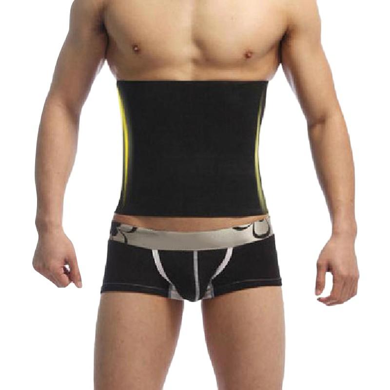 Men Abdomen Fat Burner Corset Beer Belly Body Shaper Slimming Waist Trimmer Belt