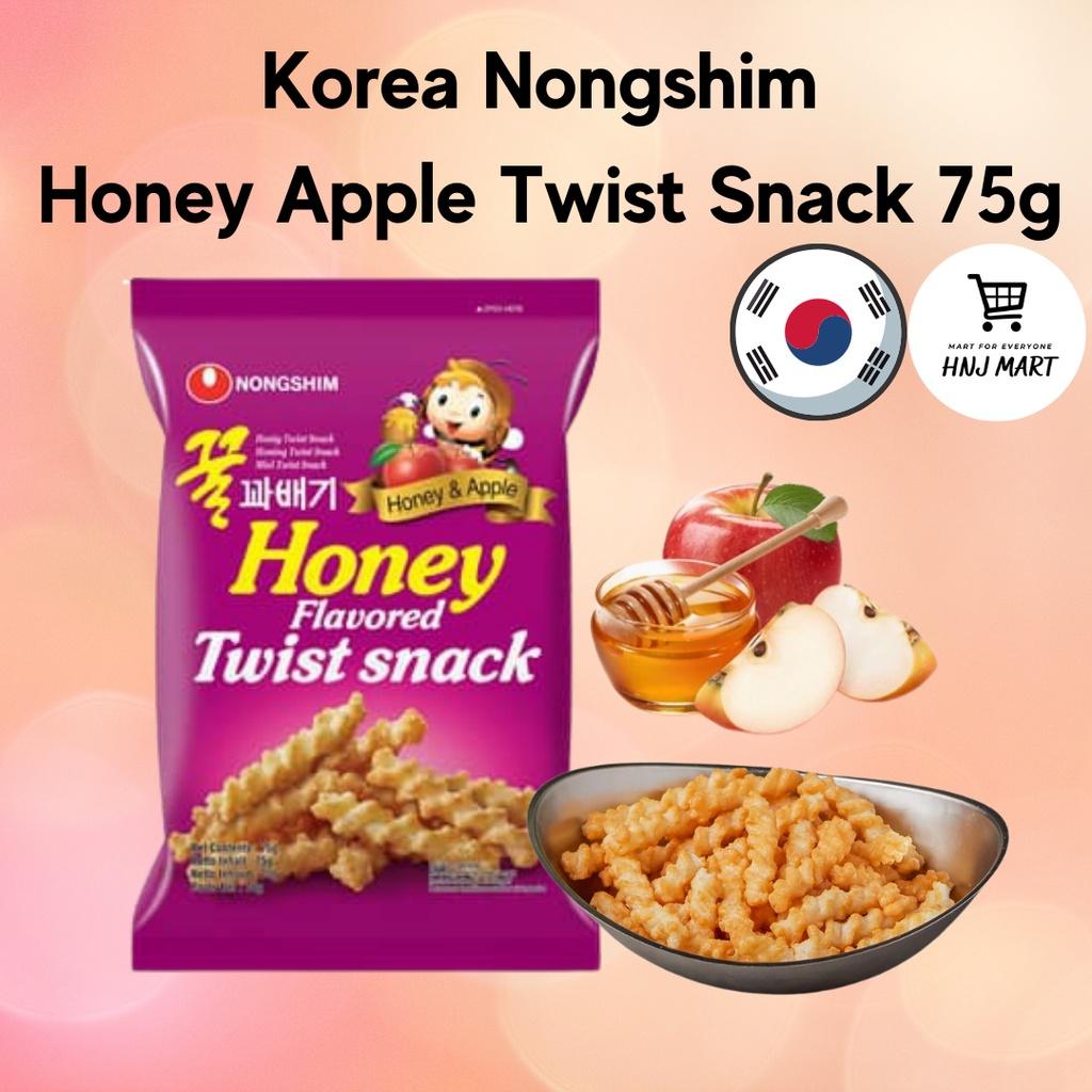 Korea Nongshim Honey Apple Twist Snack 75g