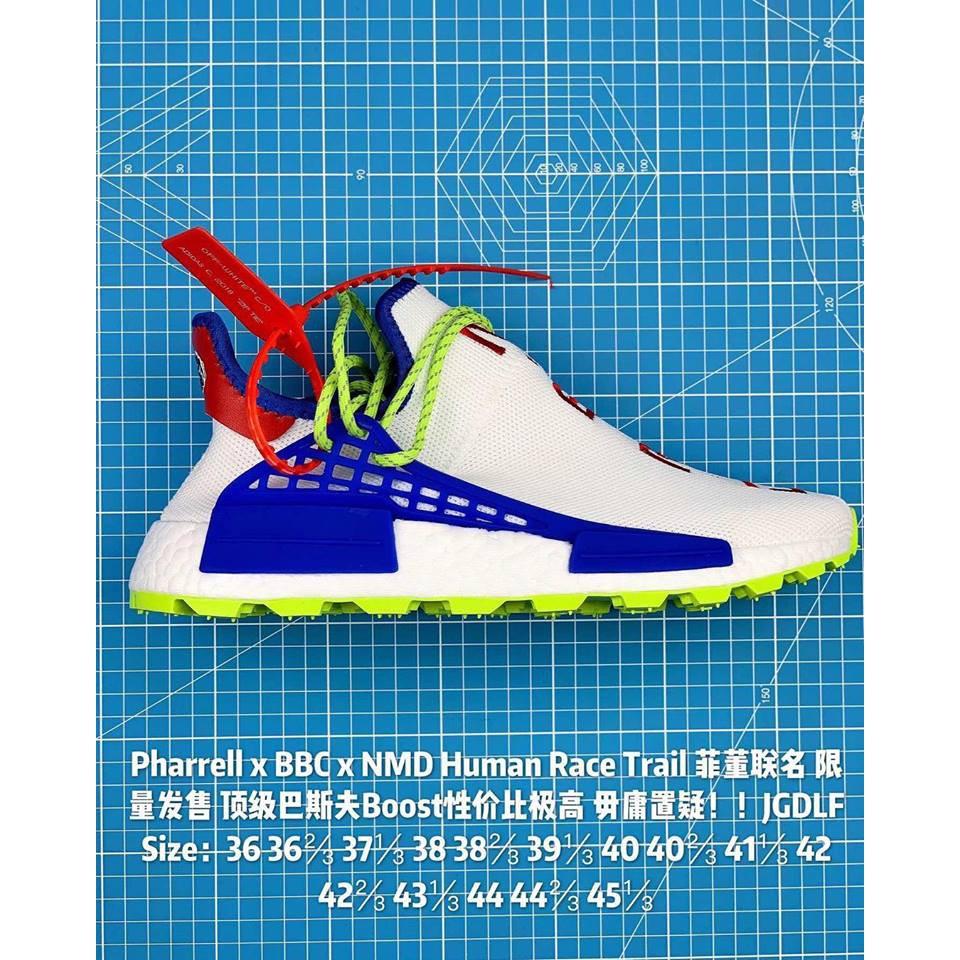 7e419bd8bbf5c Pharrell x BBC x NMD Human Race Trail