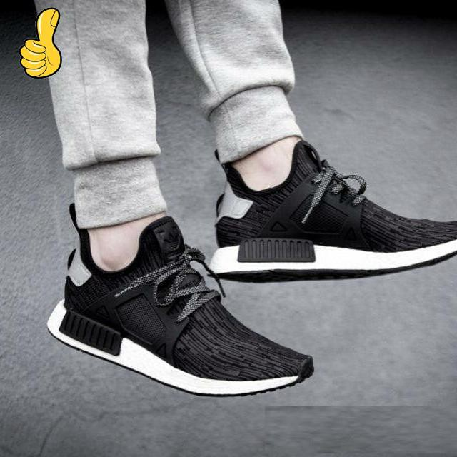 buy popular 40ce4 55b26 Ready Stock 100%Original Adidas NMD XR1 Primeknit Oreo Men/Women Runing  Shoes 删除