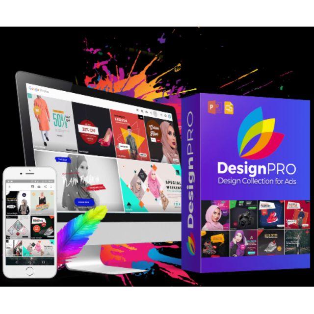 [DIY DESIGN TEMPLATE] DesignPro Design Iklan Template Banner Poster Dengan Power Point Semudah ABC