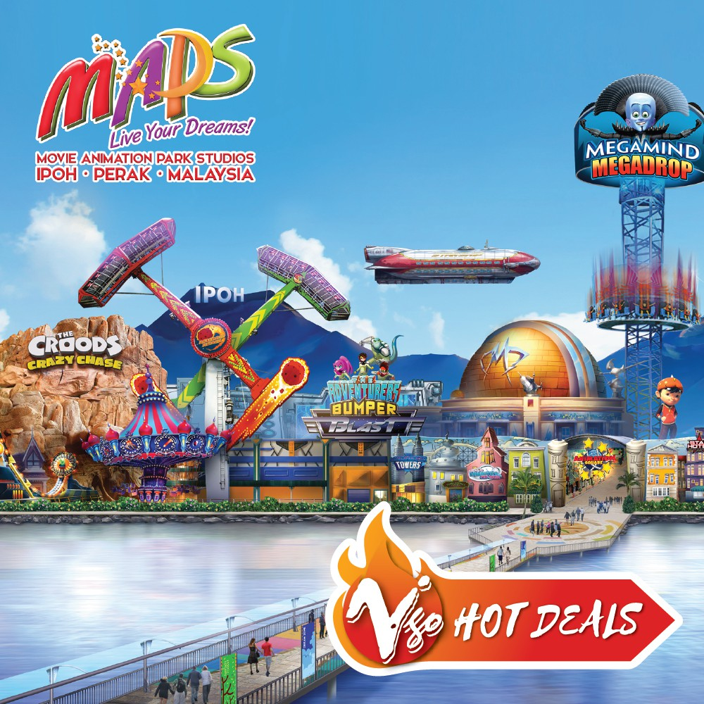 Ipoh Movie Animation Park Studio Maps 1 Day Pass Shopee Malaysia