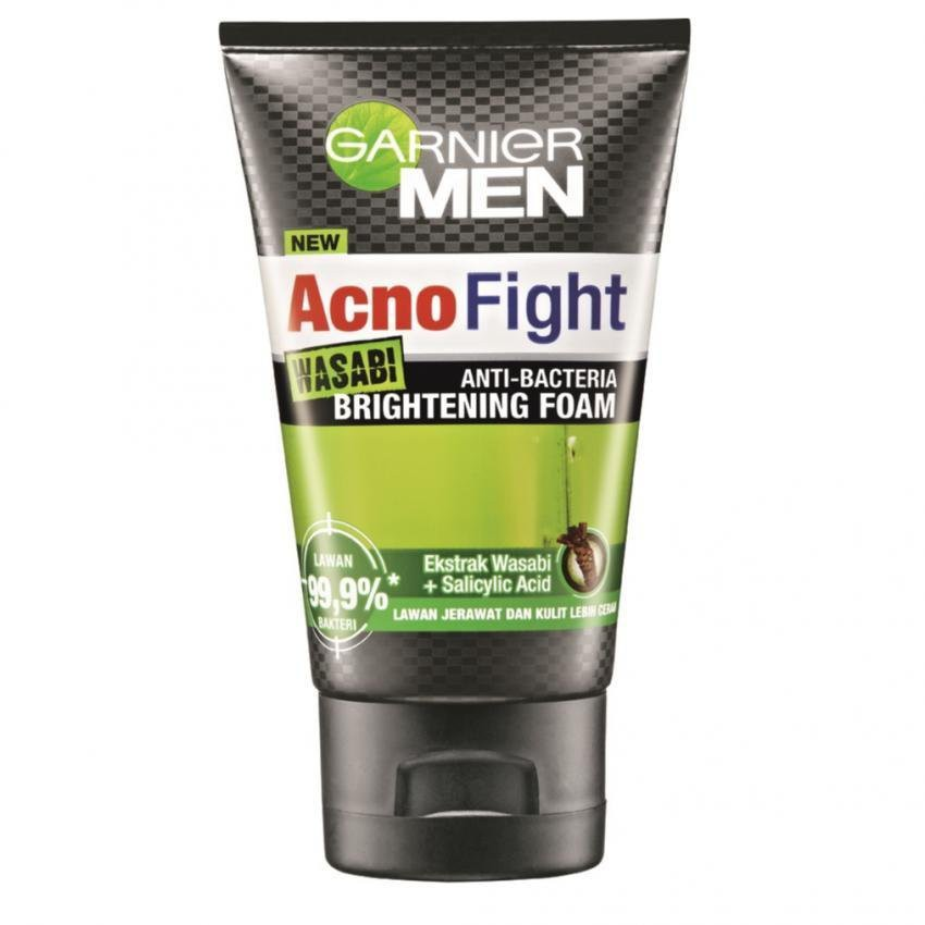 Garnier Men Power White Shaving + Cleansing Brightening Foam | Shopee Malaysia