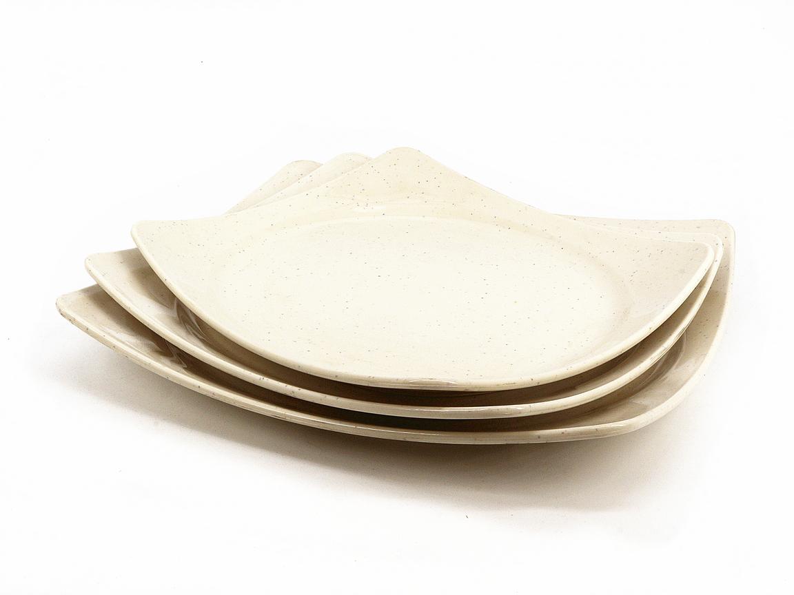 Toyogo dining plate Set C 3 in 1 / piring set 3 dalam 1