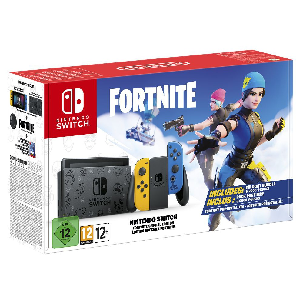 Nintendo Switch Fortnite Special Edition (UK set)READY STOCK