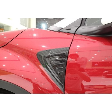 TOYOTA CHR side lampshade ABS carbon fiber patch Toyota C-HR