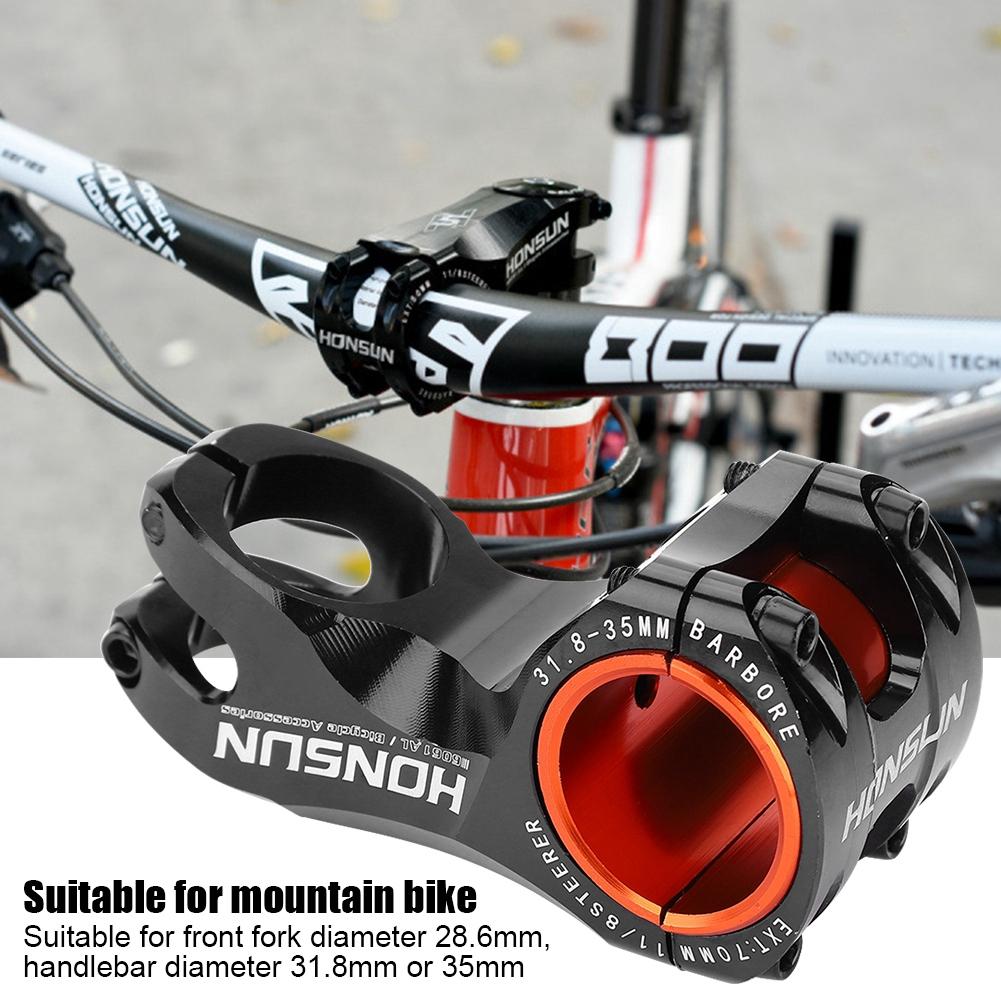 HONSUN 90mm 17° Cycling Mountain MTB Bike Bicycle 31.8mm Handlebar Stem Surprise