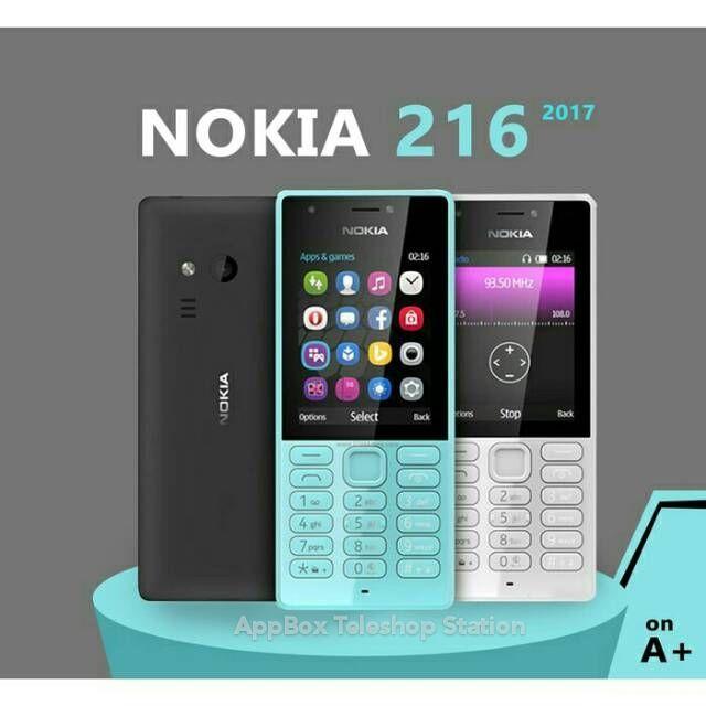 [ NEW ] NOKIA 216 FEATURE PHONE ORIGINAL AVAXX MALAYSIA WARRANTY