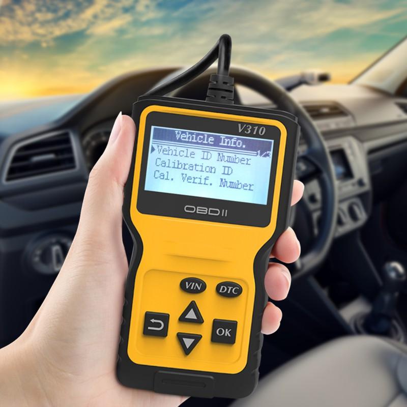WonVon Vehicle Scanner Diagnostic Code Reader New V310 OBD2 OBDII Car Diagnostic Tool