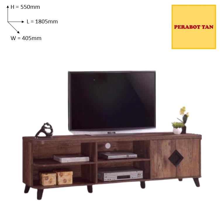 Texas 03 Tv Cabinet Kabinet Tv Shopee Malaysia