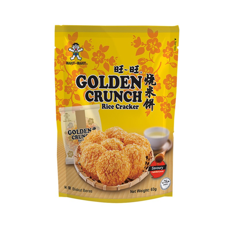 WANT WANT Golden Crunch