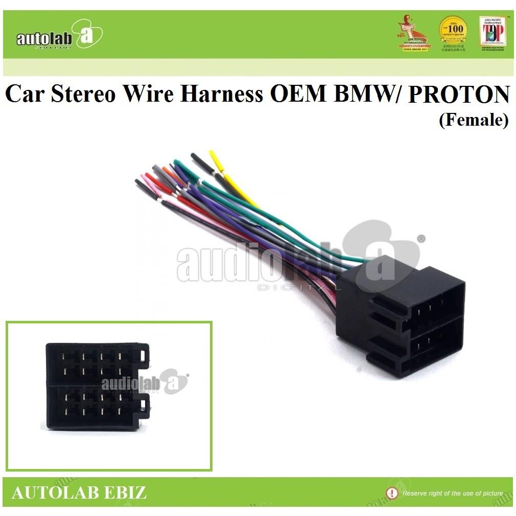 Socket Harness OEM Car Stereo Radio For BMW 97-02