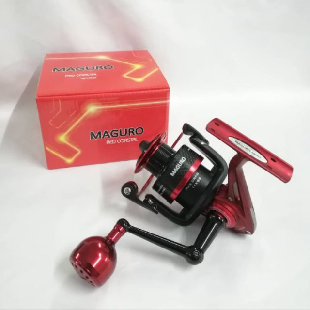 MAGURO RED COASTAL SPINNING REEL