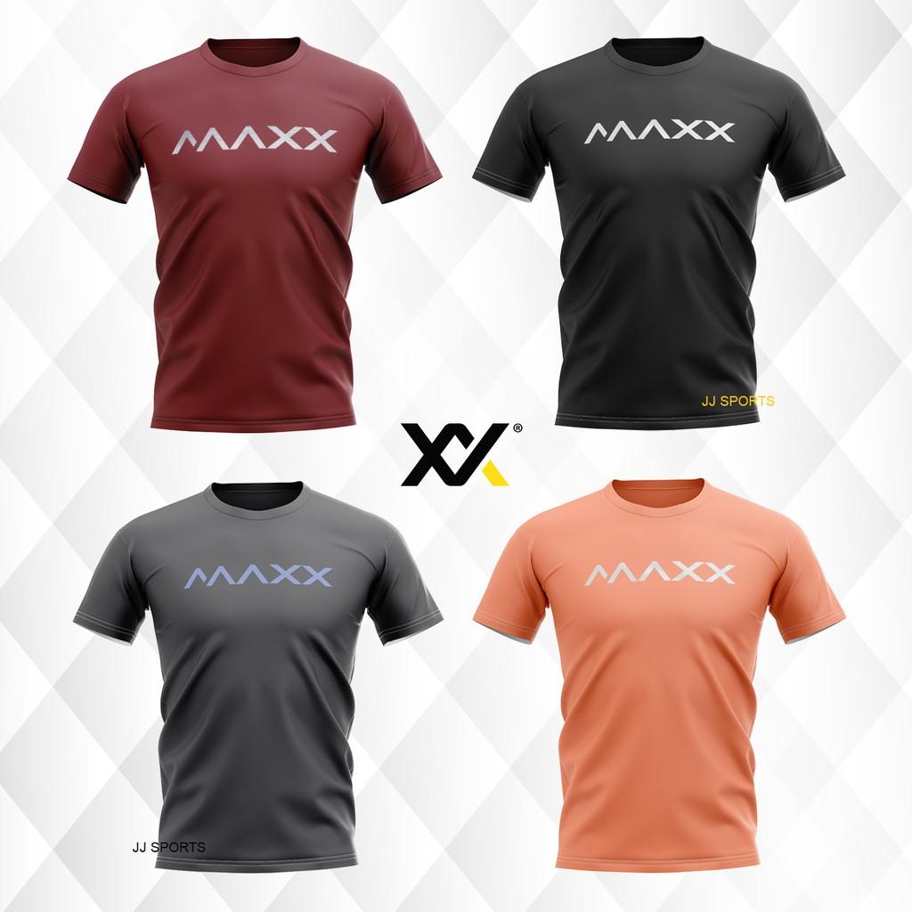 Maxx Plain Tee Series Badminton Jersey New (4 COLOR)