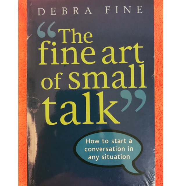 【Ready Stock】The Fine Art Of Small Talk