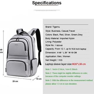 9d0d067e5a Free Gift  Tigernu High-capacity travel backpack computer bag ...