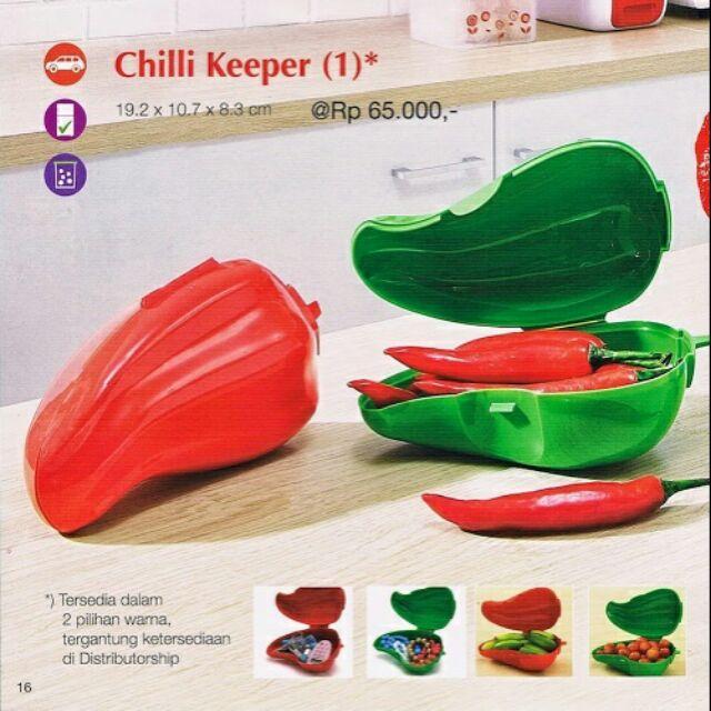 Tupperware Chilli Keeper [Yellow]