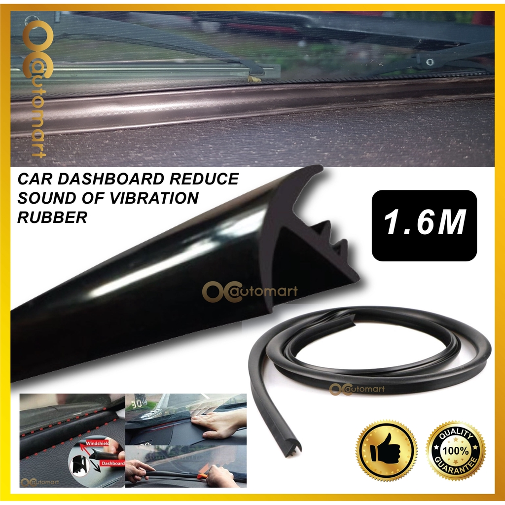1.6M New Upgrade Version Car Dashboard Reduce Sound Of Vibration Rubber Seal Windshield Insulation Seal Strip