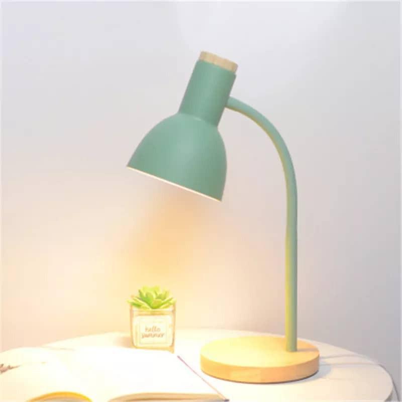 Nordic Style Desk Lamp Table Lamps Adjustable LED Light Lighting Lights Room Deco Bed Cabinet Pink Stuff Lampu Meja USB