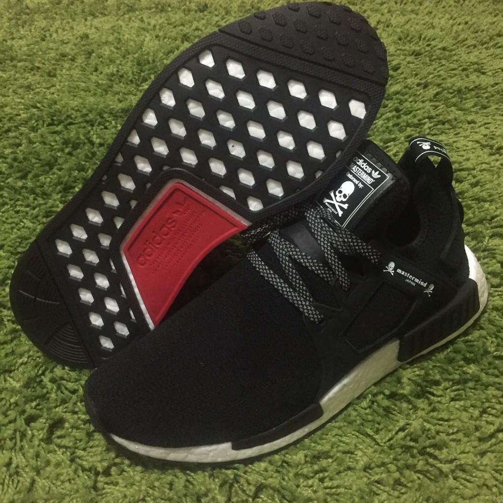 100% Originali Adidas Nmd Rt Uomote Il Giappone Mmj Cranio Nero Uomini