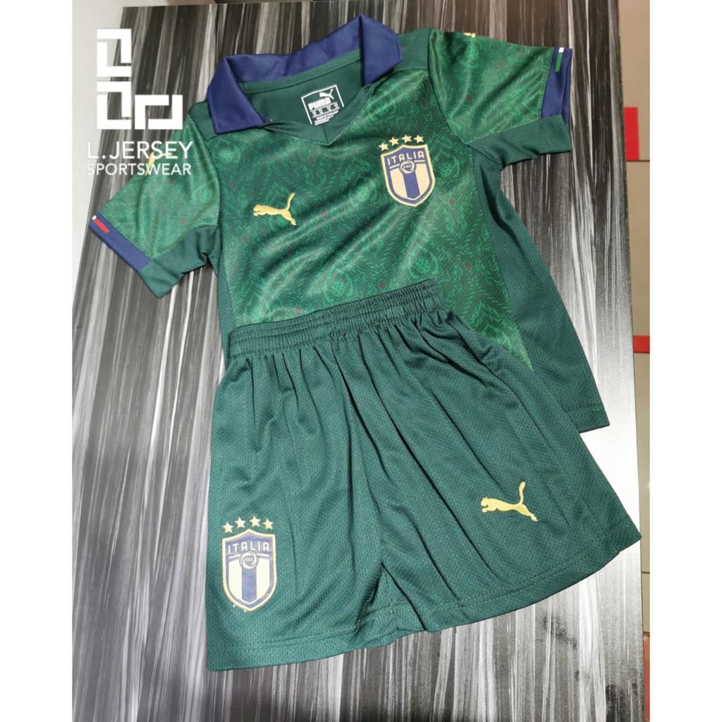 Italy Kid 3rd Kit Euro Cup Season 20/21 Fans Jersey