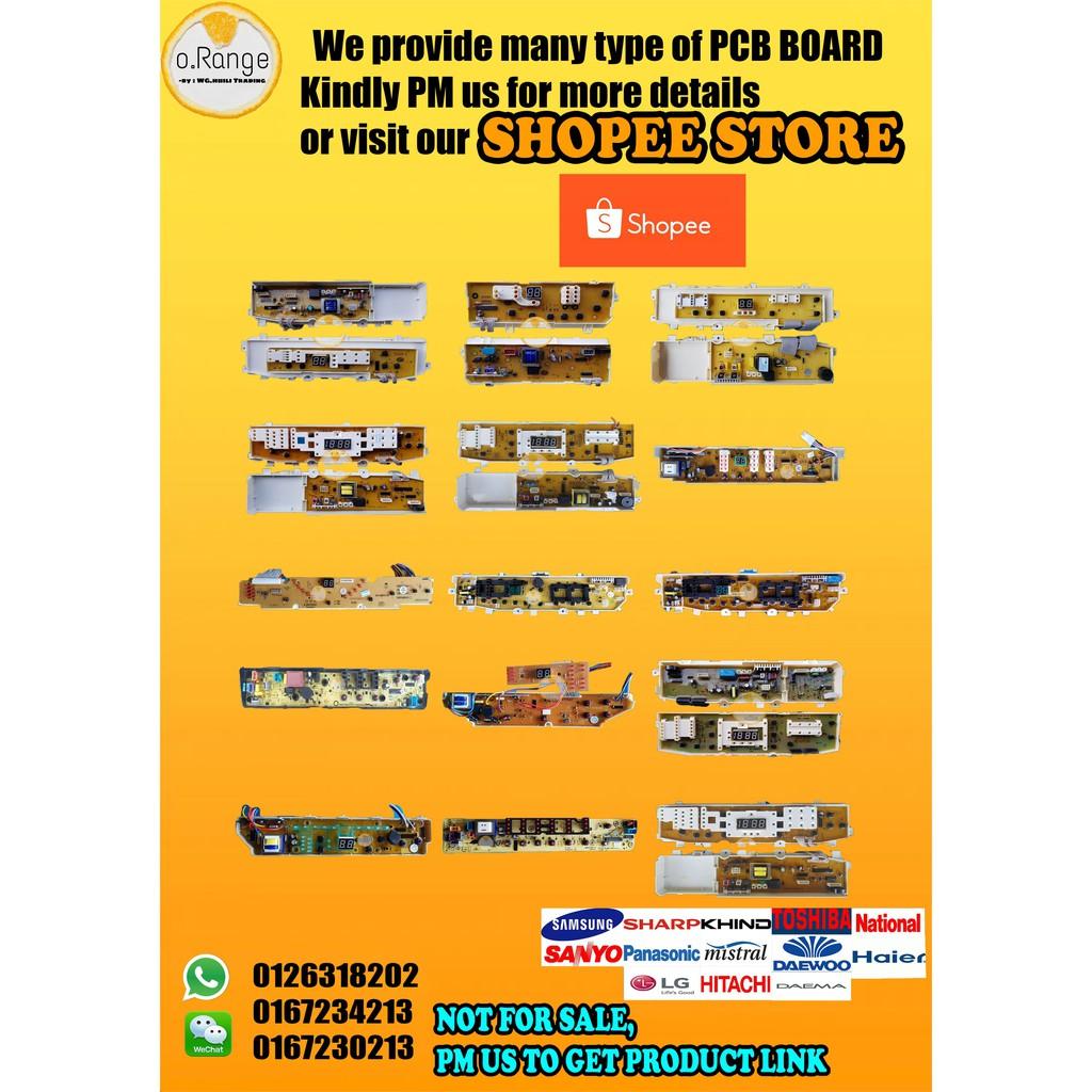 Sxy2200 Universal Control Pcb Board Spare Parts Washing Machine National Wiring Diagram Shopee Malaysia