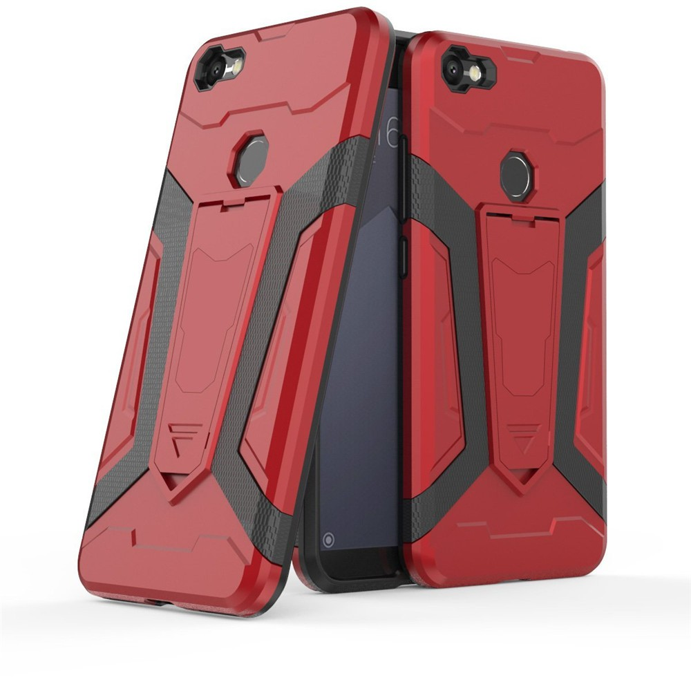 Xiaomi Redmi S2 Case Cover Hard Casing Shockproof Armor Shell 360 Rotation Stand | Shopee Malaysia