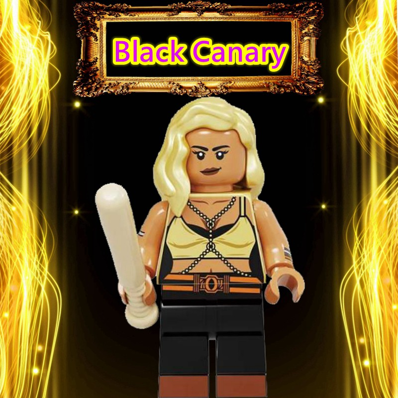 Birds Of Prey Harley Quinn Black Canary Compatible With Lego Minifigures Dc Batman The Joker Superman Building Blocks Toys For Children Kids Toys Spiderman Shopee Malaysia