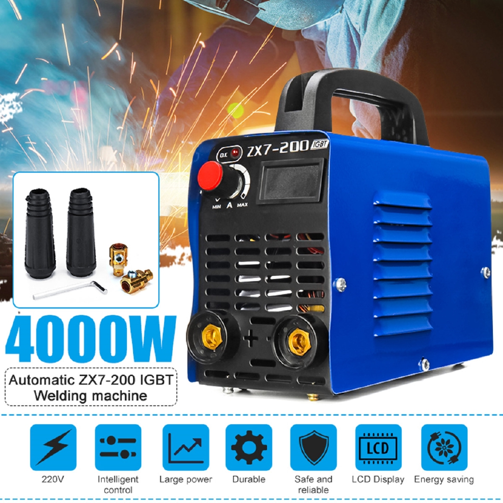 Automotive Tools & Supplies Good 1xhandheld Mini Mma Electric Welder 220v Power Inverter Arc Welding Machine Tool Business & Industrial