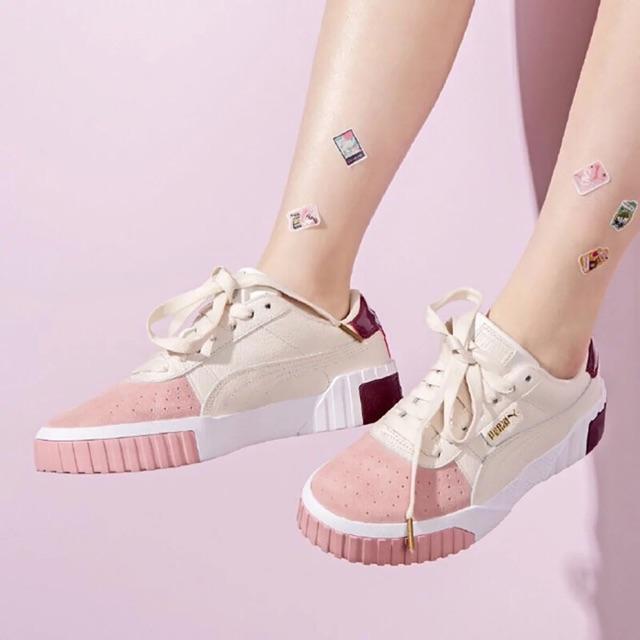 【3colors ready stock】Original Puma Cali Remix Wn's Euphoria Meta Women's  Casual Shoes Board Shoes Low Top Sneakers