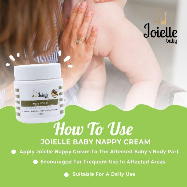 JOIELE BABY TOP TO TOE & NNAPPY RASH CREAM
