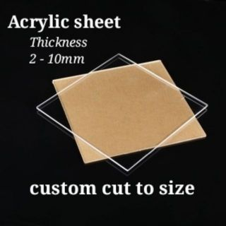 Acrylic sheet size 2/3/4/5/10mm(A3)297mm x 420mm