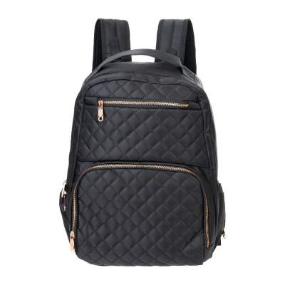 Princeton: Milano 2.0 Diaper Bag - Black