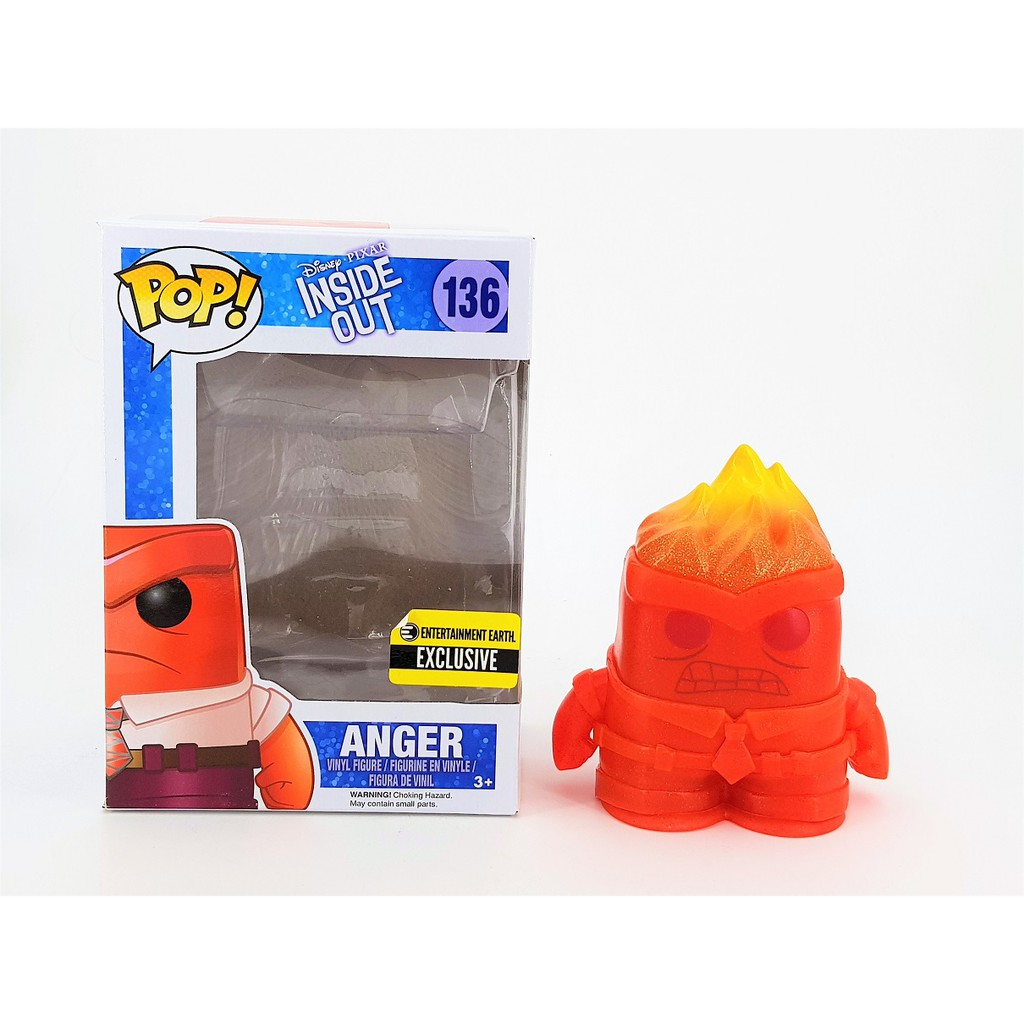 Anger Crystal-EXCLUSIVE Inside Out Funko Pop Vinyle